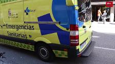 Accidente en la calle Vitoria, Burgos