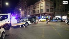 Accidente de tráfico en la calle Antonio Hurtado