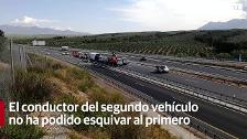 El conductor fallece en un accidente en la A-44
